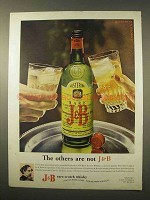 1963 J&B Scotch Ad - The Others Are Not J&B