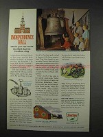 1963 Sinclair Oil Ad - Independence Hall