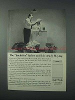 1963 Maytag Washer Ad - Bachelor Father Steady