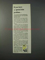 1963 Cream of Rice Cereal Ad - Special Diet Problem