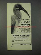 1963 South African Tourism Ad - Take The Family