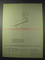 1959 Accles & Pollock Steel Tubing Ad - Straight