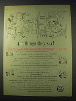 1959 ICI Imperial Chemical Industries Ad - The Things