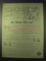 1959 ICI Imperial Chemical Industries Ad - Things They Say
