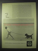 1959 ICI Imperial Chemical Industries Ad - On The March