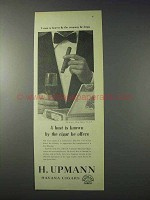 1959 H. Upmann Havana Cigars Ad - Host is Known