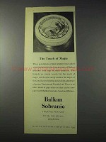 1959 Balkan Sobranie Smoking Mixture Tobacco Ad