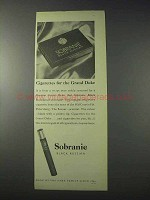 1959 Sobranie Black Russian Cigarettes Ad - Grand Duke