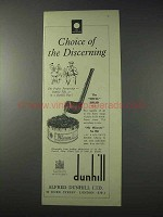 1959 Dunhill Shell Briar Pipe, My Mixture Tobacco Ad