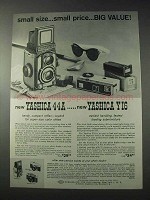 1959 Yashica 44A, Y16 Camera Ad - Big Value