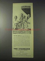 1959 The Standard Life Assurance Company Ad - Sail By