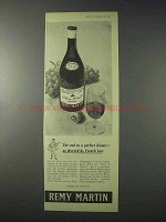 1959 Remy Martin Cognac Ad - Decreed by French Law