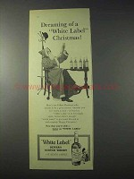 1959 Dewar's White Label Scotch Ad - Dreaming Of