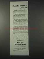 1959 Merrill Lynch Brokers Ad - Guide for Investors