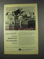 1959 Mercury Outboard Motor Ad - From 6 to 70