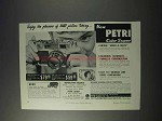 1959 Petri Color Super Camera Ad - Easy Picture Taking