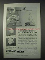 1959 Lennox Landmark Air Conditioning Ad - Comfort