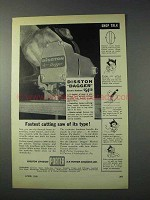 1959 Porter Disston Dagger Electric Handsaw Ad