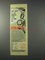 1959 Channellock No. 420 Pliers Ad - The Handiest