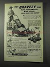 1959 Gravely Tractor Ad - More Power For Your Money