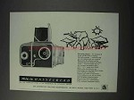 1959 Hasselblad 500 C Camera Ad - This is Hasselblad