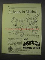 1959 Angostura Aromatic Bitters Ad - Alchemy in Alcohol