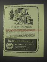 1959 Balkan Sobranie Smoking Mixture Ad - Such Moments