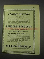 1959 Accles & Pollock Steel Tubes Ad - Change of Name