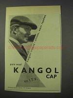 1959 Kangol Cap Ad - Silicone, Water Repellent