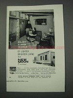 1959 New Moon Mobile Home Ad - Enjoy a New World