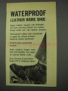 1959 Dow Corning Syflex Silicone Ad - Waterproof Shoe