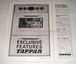 1959 Tappan Oven Ad - Exclusive Features