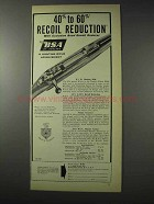 1958 BSA Rifle Ad - Recoil Reduction