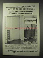1958 American Gas Association Ad - Air-Conditioner, Too
