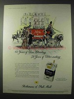 1958 Rothman's of Pall Mall Cigarettes Ad - Blending