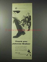 1958 Johnnie Walker Scotch Ad