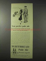 1958 Whitbread Pale Ale Ad - You Prefer Pale Ale