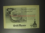 1958 Grand Marnier Liqueur Ad - Perfect Complement
