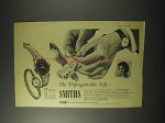 1958 Smiths Watch Ad - A.358, F.639