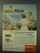 1958 National Change Registers Ad - Food Fair Markets