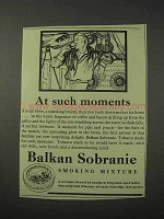 1958 Balkan Sobranie Smoking Mixture Tobacco Ad