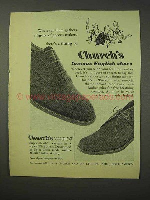 speech about shoes