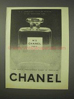 1958 Chanel No. 5 Perfume Ad!