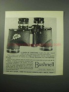 1958 Bushnell Binocular Ad - A Touch of Christmas