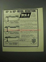 1958 BSA Rifle Ad - Regent, Viscount, Imperial