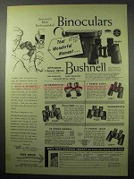 1956 Bushnell Bincocular Ad - That Wonderful Moment