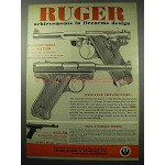 1956 Ruger Standard Model Pistol Ad - Achievements