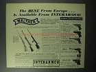 1957 Walther Firearms Ad - KKV KKM PP PPK SC LP UP