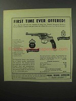 1957 Husqvarna Revolver Ad - First Time Ever Offered