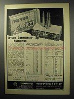 1955 Norma Olympic Championship Ammunition Ad